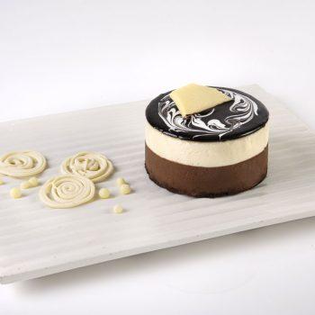 חלבי-C עוגת פרנץ ונילה-מנה אישית