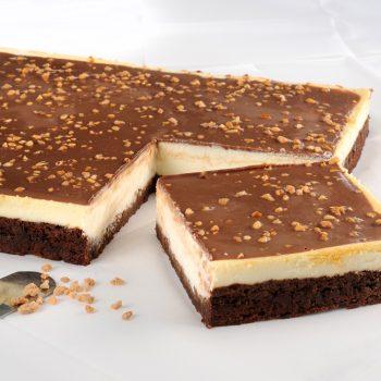 חלבי-C עוגת גבינה ובראוניס
