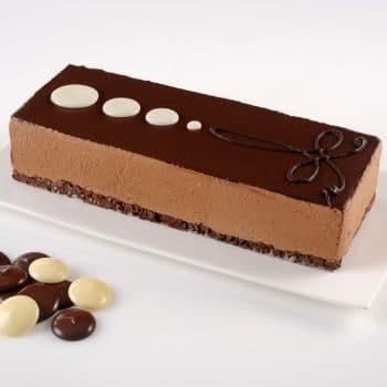 עוגות פסים-C פס שוקולד בלגי – פרווה