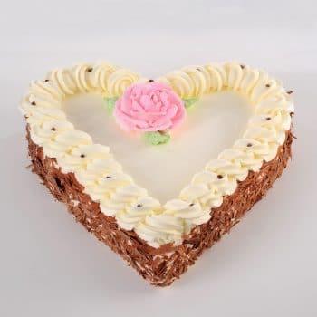 עוגות טורט-C עוגת לב
