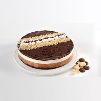 עוגות טורט-C עוגת מוס חלבה ושוקולד – פרווה
