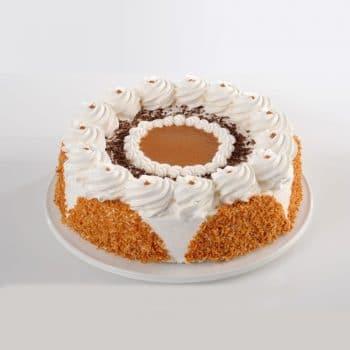 עוגות טורט-C עוגת טורט ריבת חלב