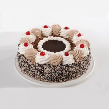 עוגות טורט-C עוגת שוקולד מקושטת – פרווה
