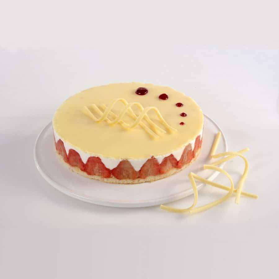 חנות עוגת מיני גבינה חגיגית
