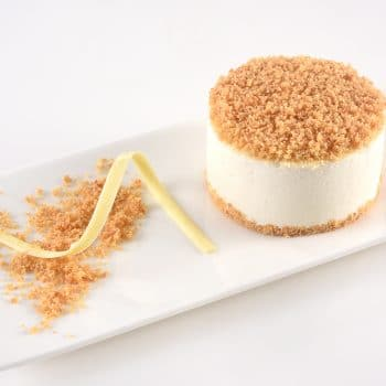 יום האהבה-C עוגת ג.  פירורים-מנה אישית