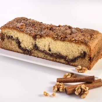 בחושות ושמרים עוגת אגוזים וקינמון – פרווה