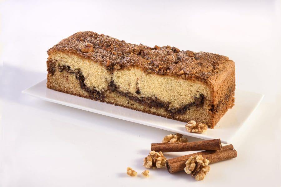 בחושות/שמרים-C עוגת אגוזים וקינמון – פרווה