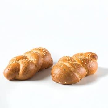לחמים/לחמניות-C לחמניה קלועה מזונות ( 90 גר' )