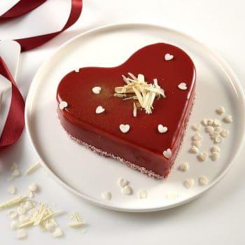 חלבי Lovecake – אדום לוהט