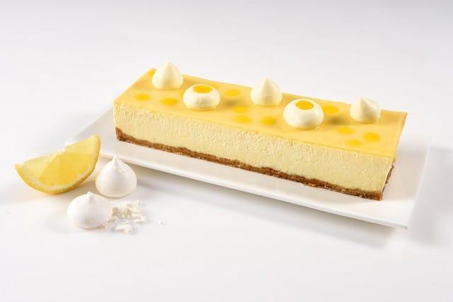 חלבי פס עוגת גבינה לימונית