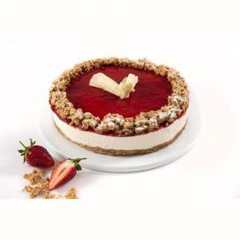הזמנת עוגות מיני מוס גבינה ותות